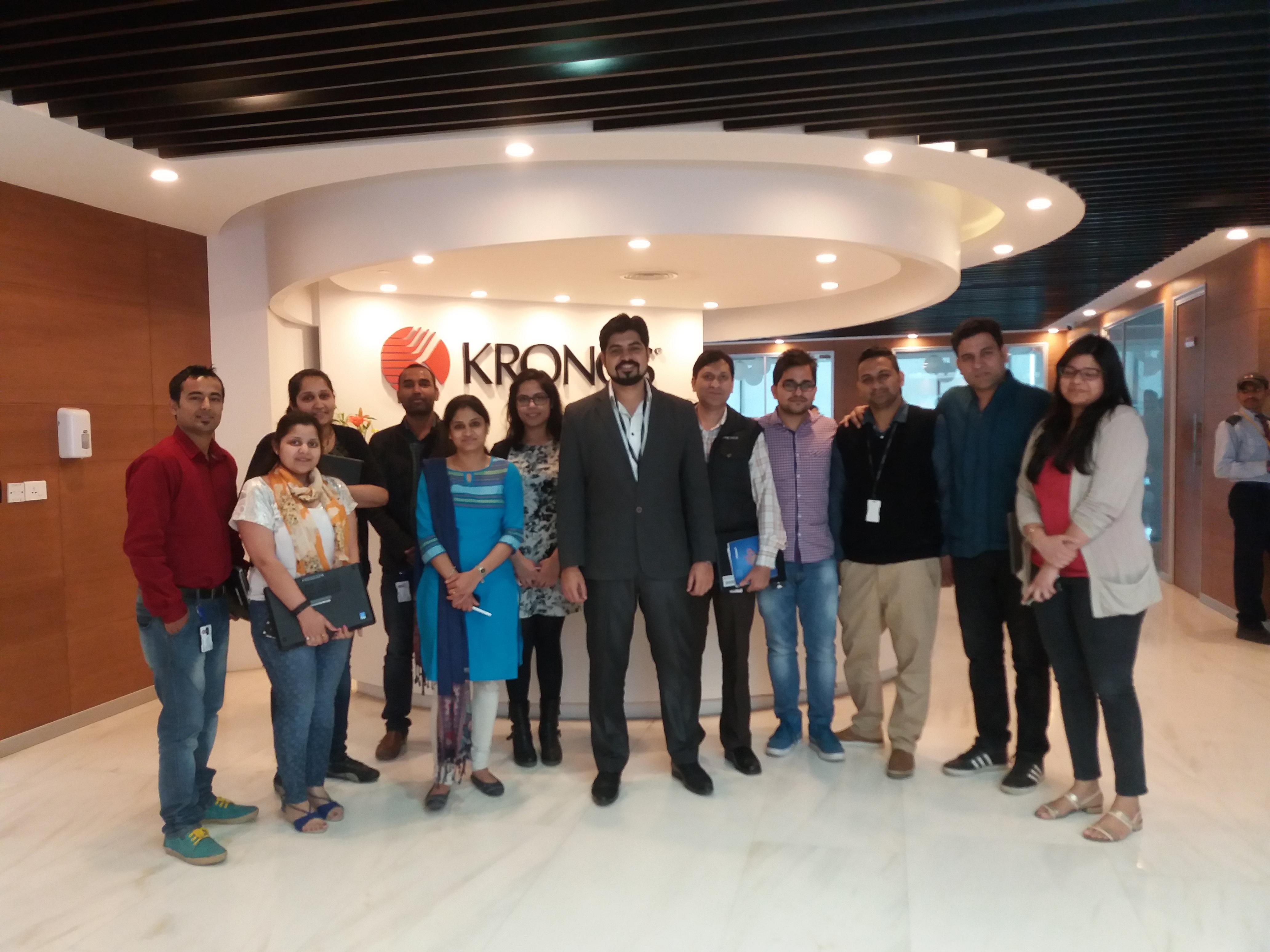 Kronos 11 & 12-February-2016 (Noida) - Nurture Tech Academy