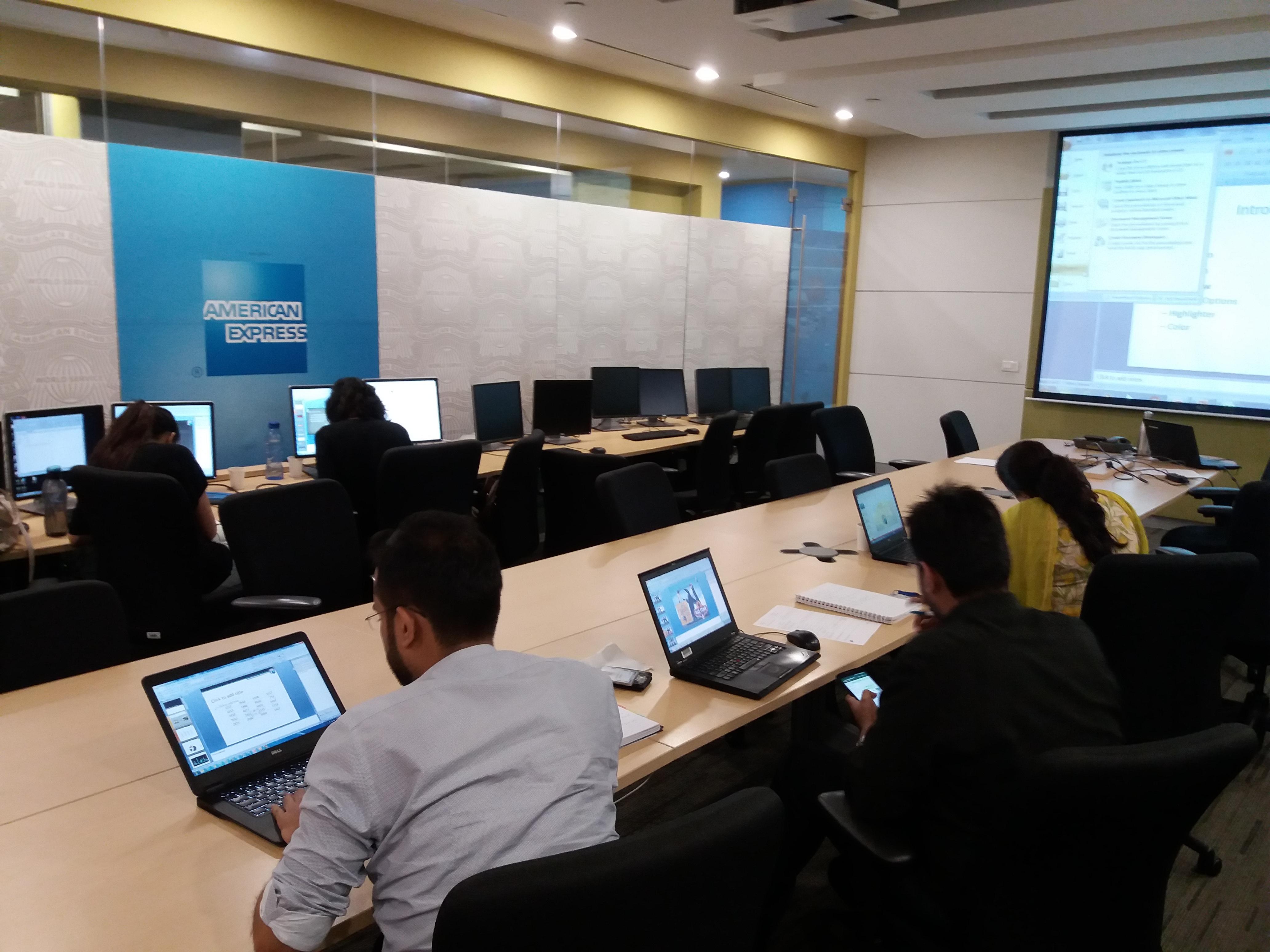 American Express 24-Aug-2016 (Gurgaon) - Nurture Tech Academy