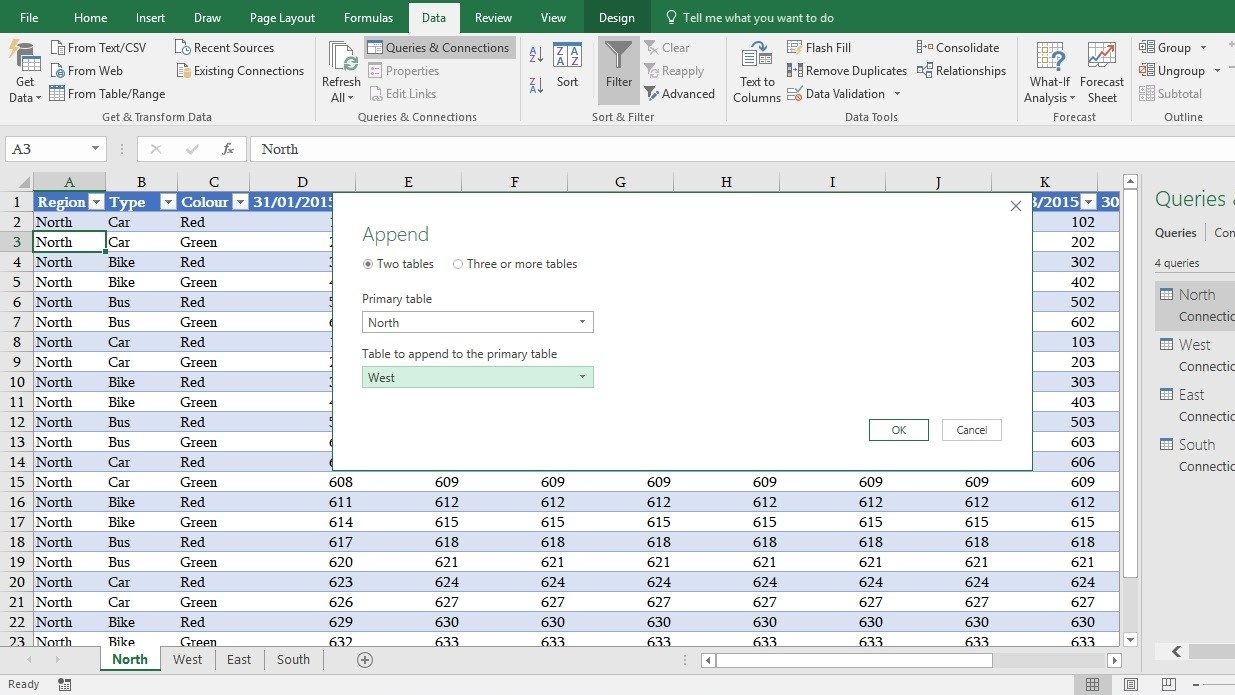 Advance Excel Training- Merge Multiple Worksheets Data ...