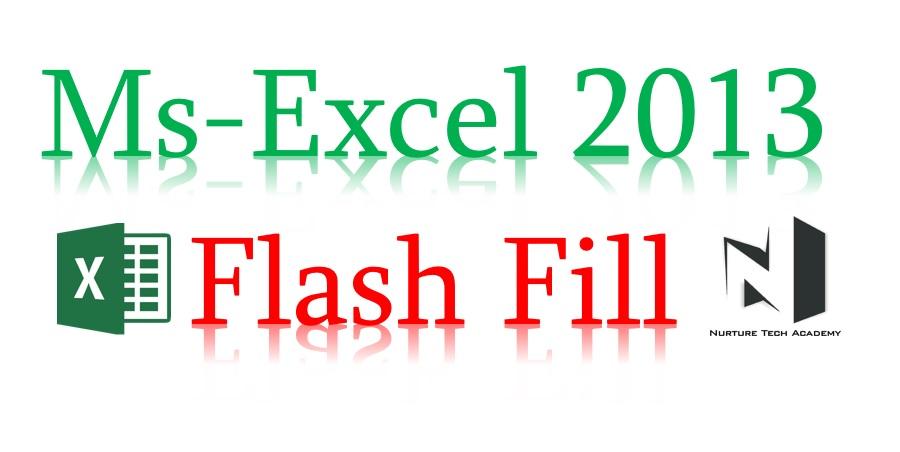 Thumbnail- flash fill